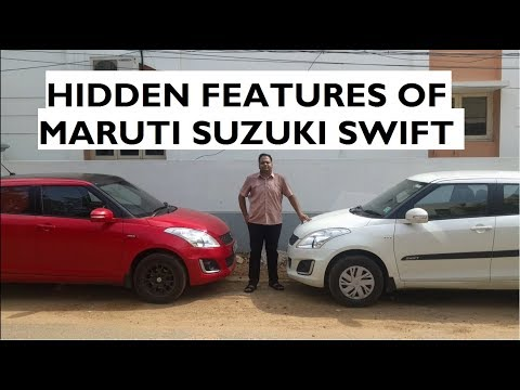 Hidden Features in Maruti Suzuki Swift