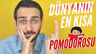 YKS 1 Dk Benimle Çalış  Dünyanın En Kısa Pomodoro Videosu