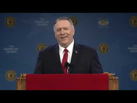 Secretary Pompeo Remarks At The National Convention Of The American Legion