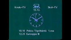 Koulu-TV juonto TV1 (15.12.1986)