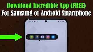 Incredible App for your Samsung or Android Smartphone - Download Now (Free)