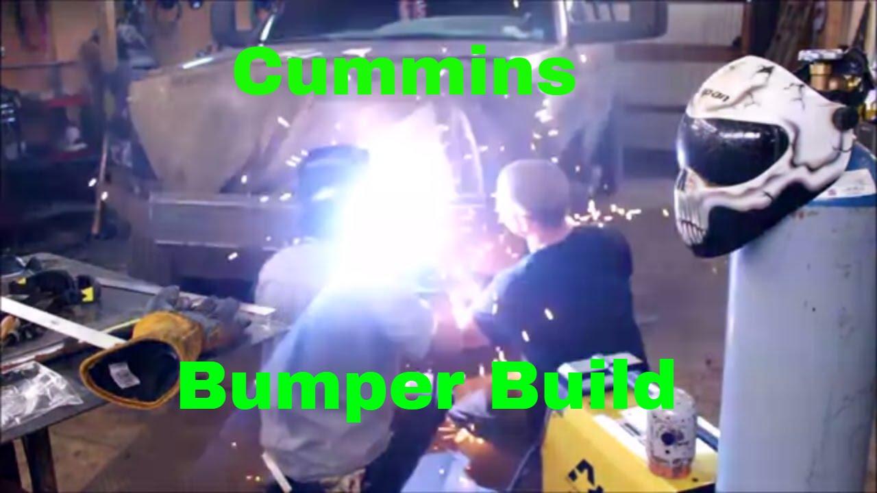 2nd Gen cummins wicked bumper build Day 1 of 2
