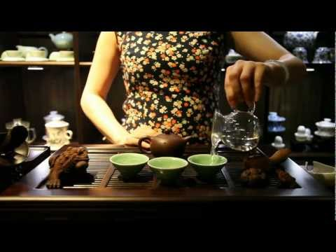 The Chinese Tea Company - Brewing Puer Cha