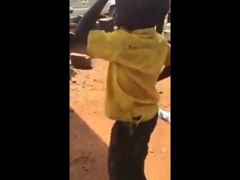 Fire base, Ghetto kid shows off talent in dance Sitya loss