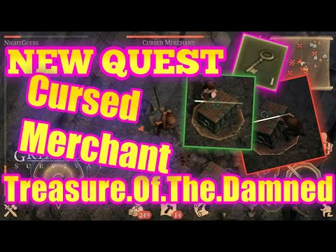Grim Soul Dark Fantasy : #30 Treasure Of The Damned, Cursed Merchant Event, Epic Fight!!!