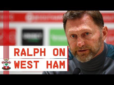 PRESS CONFERENCE: Ralph Hasenhüttl previews West Ham United vs Southampton