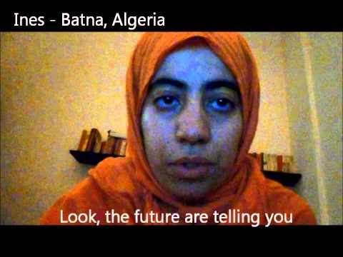 No More Excuses - Support a Peace Agreement Now - Ines from Batna, Algeria