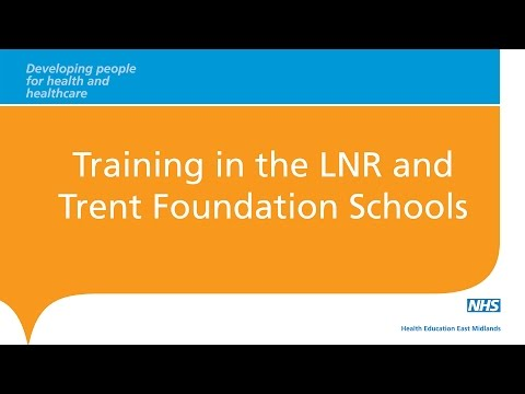 Training In the LNR And Trent Foundation Schools