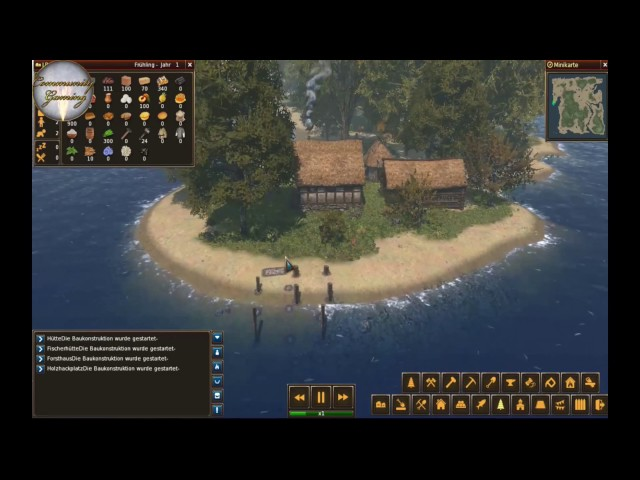 Let's Play Life is Feudal: Forest Village   Ein Neuanfang   Folge #001