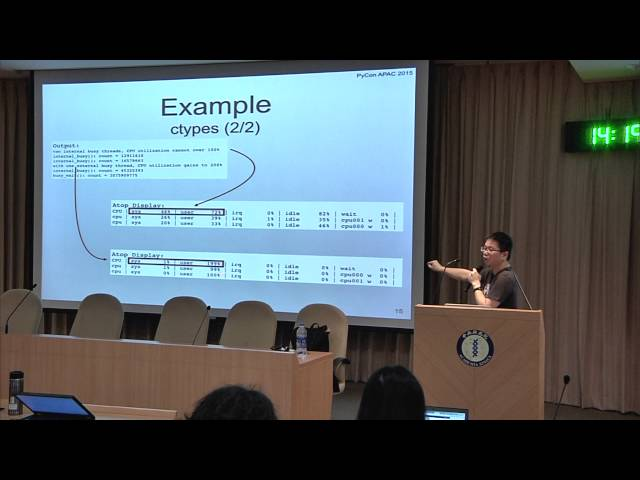 Image from R1 DAY2-01 Global Interpreter Lock: Episode I - Break the Seal - Tzung-Bi Shih (PyCon APAC 2015)