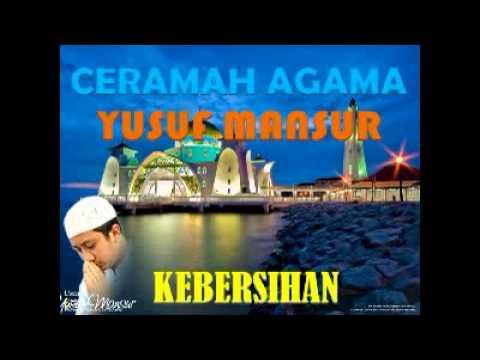 CERAMAH AGAMA ISLAM YUSUF MANSUR JUDUL KEBERSIHAN