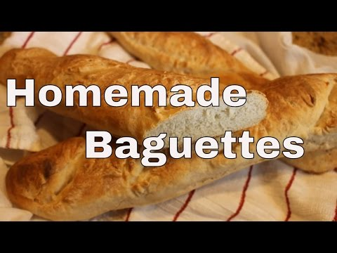 ~Homemade Rustic Baguettes With Linda's Pantry~