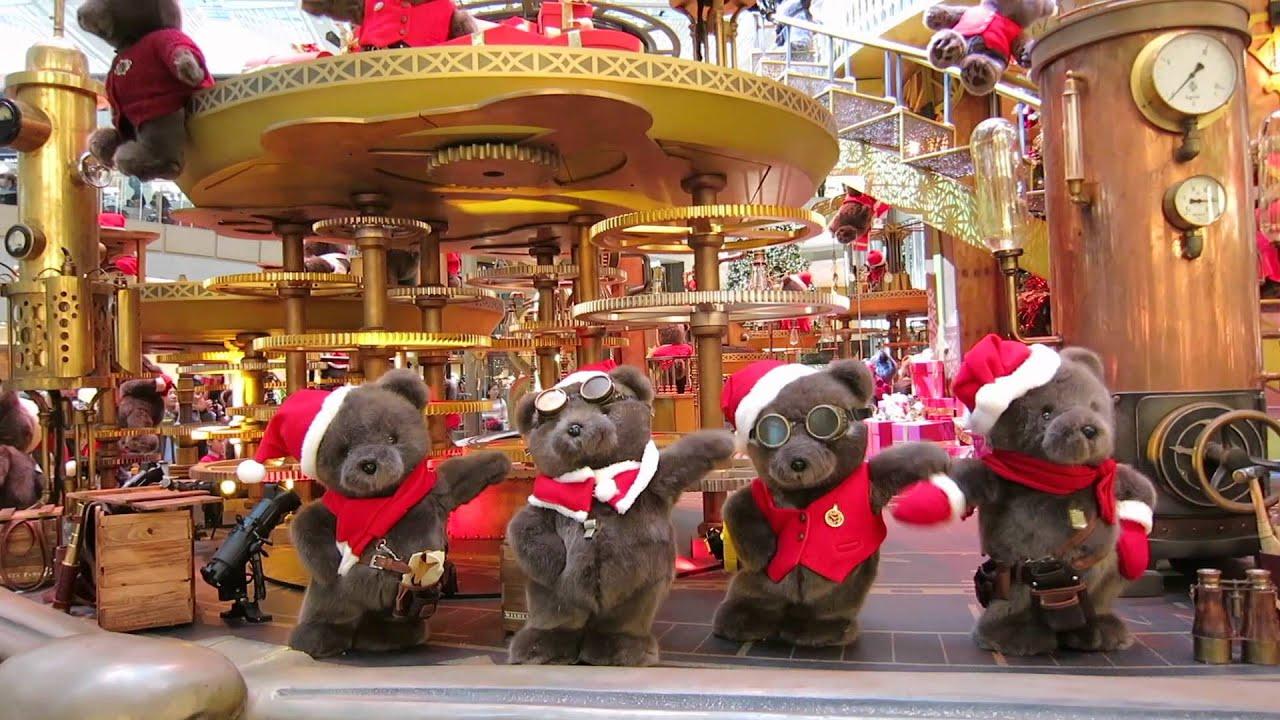bears make a wish landmark christmas 2015 youtube