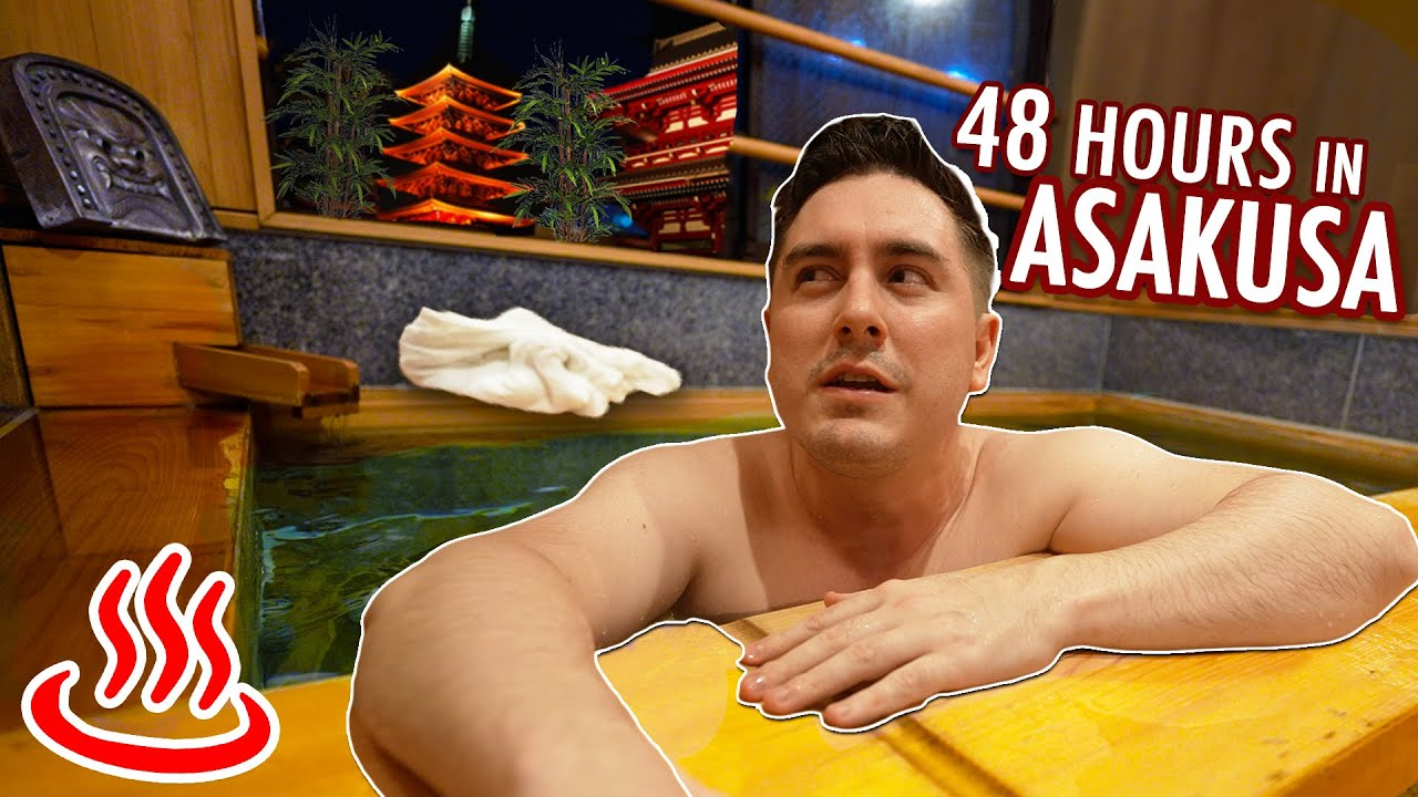 PlayTube Travel: 48 Hours in Asakusa, Tokyo | 6 Things To Do