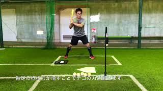 キング・オブ・ザ・ヒル編:使用方法:投球&打撃ドリル:レジースミスベースボール:ジャパン