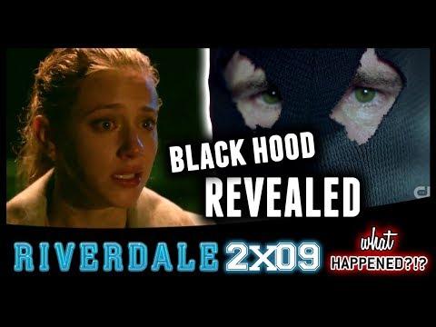 RIVERDALE 2x09 Recap: Black Hood Revealed (LAME?!) & DARK Jughead 2x10 Promo   What Happened?!?