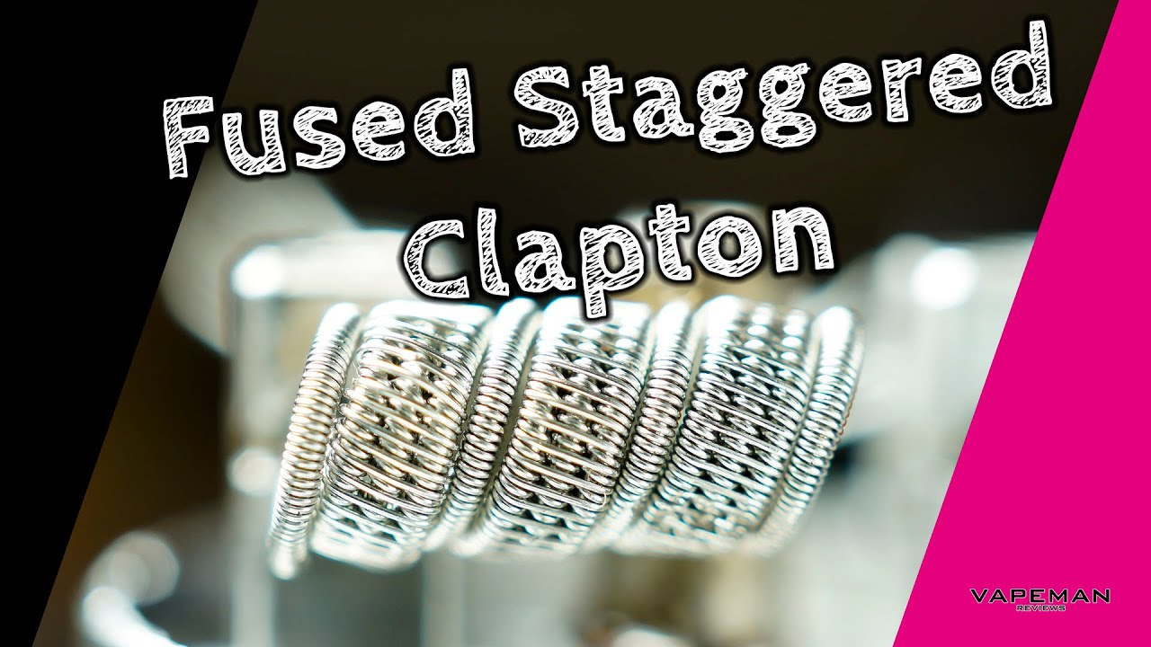 Selbstwickeln - Die Fused Staggered Clapton Coil - YouTube