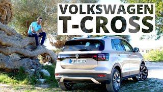 Volkswagen T-Cross - pierwszy test z czerwonym rogalem mocy