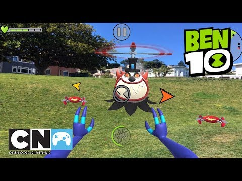 Ben 10 | New App! Alien Experience Playthrough | Cartoon Network Africa