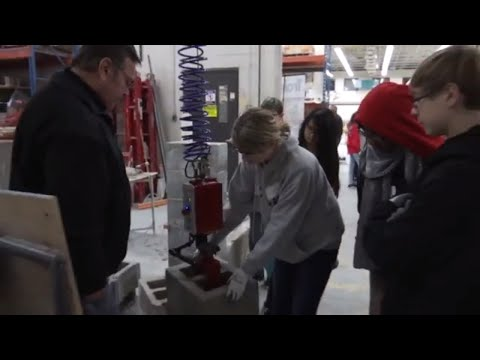 Maple Grove Middle School Students Learn About Trades