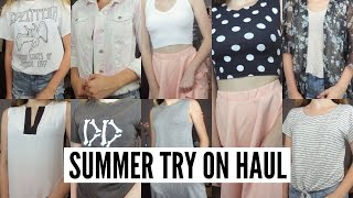 SUMMER CLOTHING HAUL 2016 // TRY ON