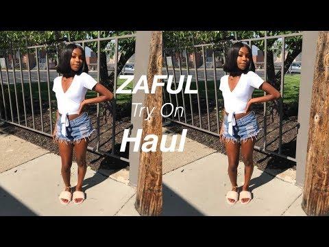 SPRING/SUMMER ZAFUL TRY ON HAUL (2018)