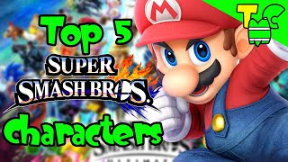 Mattoon's Lists - Top 5 New Fighters For Super Smash Bros. Ultimate