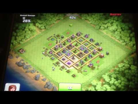 Clash of Clans- Dragon, Wizard, Balloon Epic Attack