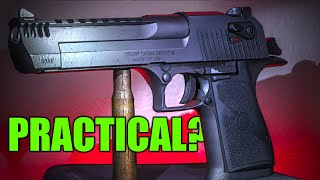 Is the DESERT EAGLE 50 Cal Practical? ( Fiddy Friday!)