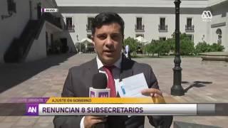 Mega - EXTRA - Cambios en subsecretarías y direcciones