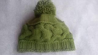 Krok po kroku - Czapka na drutach - Odcinek 1 (Warkocz)