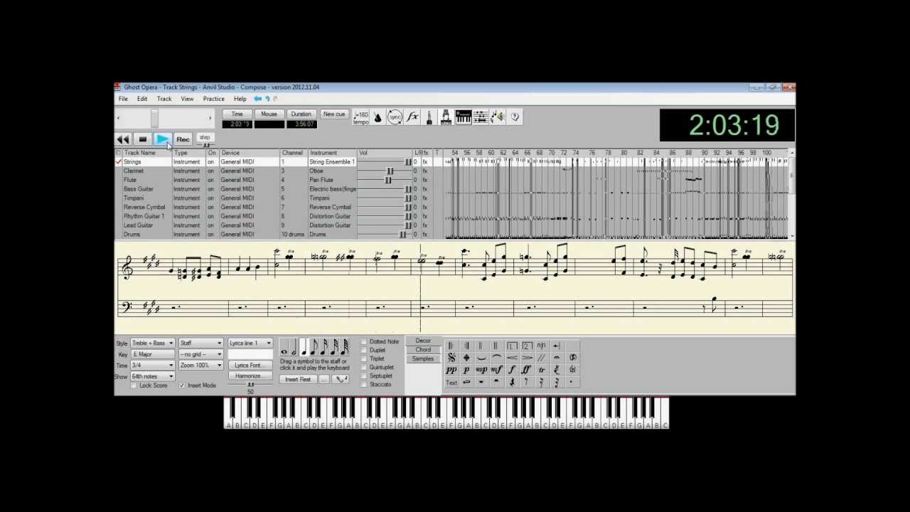 Ghost Opera- Kamelot (MIDI Cover) ***Old Version, see description for link  to new version***