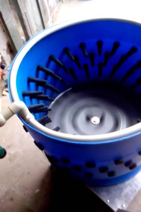 Насадка перосъёмная центрифуга для ощипывания птицы Duckmaster .