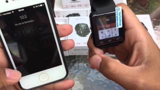 SmartWatch U8 en iPhone