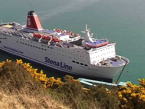 Stena Europe arriving at Fishguard Harbour