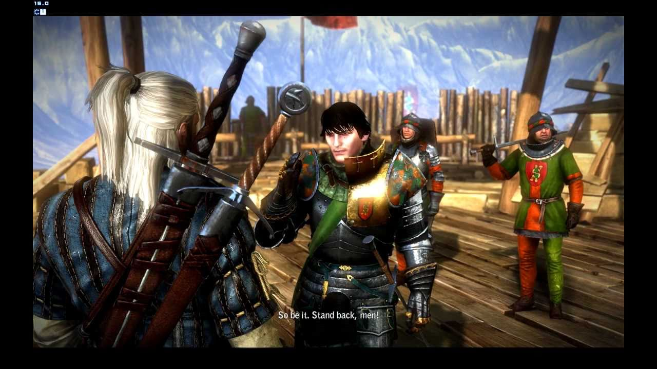 hd the witcher 2 gameplay duel with aryan la valette youtube. Black Bedroom Furniture Sets. Home Design Ideas