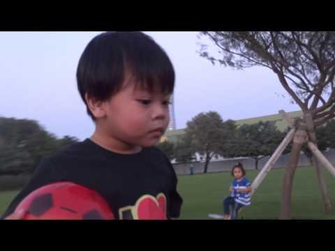 Playball Nathan & KZ at Aspire Park