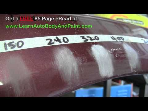 Most Common Autobody Sand Paper Grits - 80 Grit, 150 Grit, 2