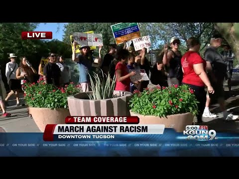 Tucsonans organize march against white supremacy and racism