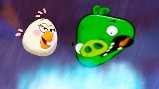 Энгри Бердс 2 с Кидом #14 Гора Гнездолунгма и Свин-Франциско в Angry Birds на крутилкины