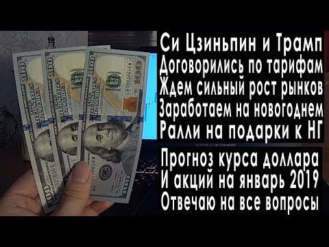 Прогноз курса доллара на январь 2019: санкции США против России, курс рубля и валюты в январе 2019