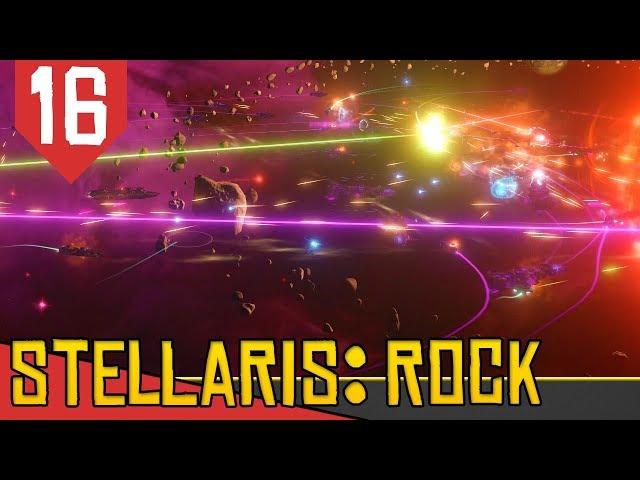 Uma Verdadeira GUERRA nas Estrelas - Stellaris Lithoids 2.5 #16 [Série Gameplay Português PT-BR]