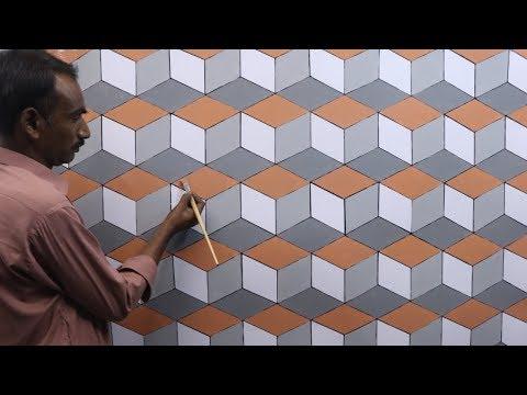 3d wall texture design   3d wall painting   3d wall decoration effect design ideas   interior design