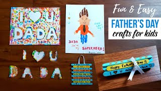 Father's Day Diy Art/crafts For Toddler/preschooler| Diy Father's Day Gift Ideas | Handprint Crafts