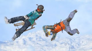 Steep Funny Ragdolls and Falls episode 2