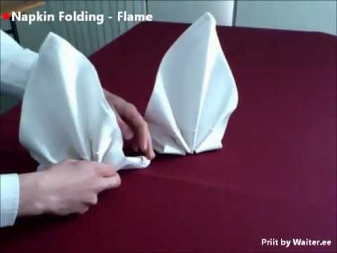 how to make origami flame