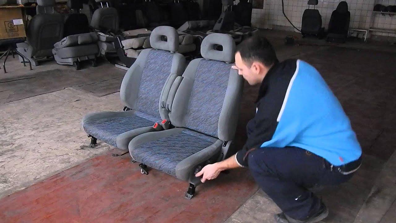 SBRF-1 Subaru Forester - передние сиденья