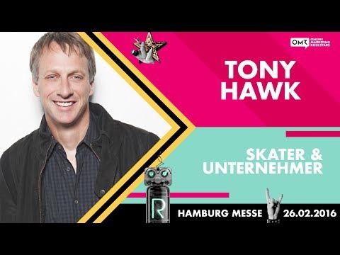 Skater Tony Hawk – Online Marketing Rockstars Keynote | OMR16