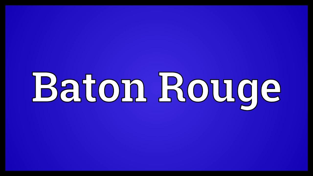Baton meaning in english weatherstrip seal