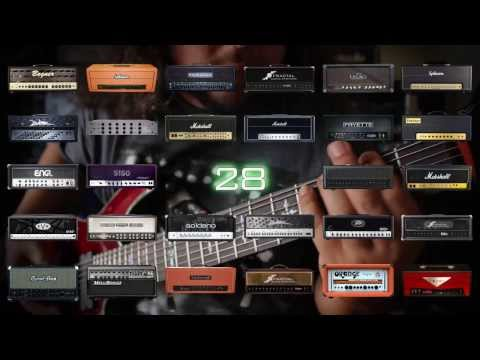 Axe FX II (FW12) - High Gain Showcase (28 amp models - Metal)